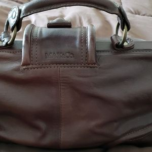Max & Co leather brown doctor bag